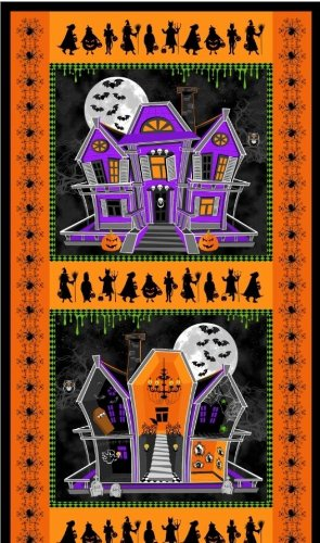 Windham Fabrics 'Ghosts and Ghouls' Halloween Cotton Fabric -