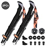 Collapsible Trekking Poles Fazitrip, Walking Poles Hiking Poles , Adjustable (115-130)cm, 38cm Length