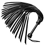 HB Leather Premium Soft Leather Flogger Whip