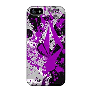 Iphone Cover Case - Splatter Volcom Protective Case Compatibel With Iphone 5/5s