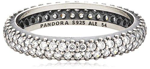 Pandora – 190909CZ, Anello in argento 925 con zirconia donna