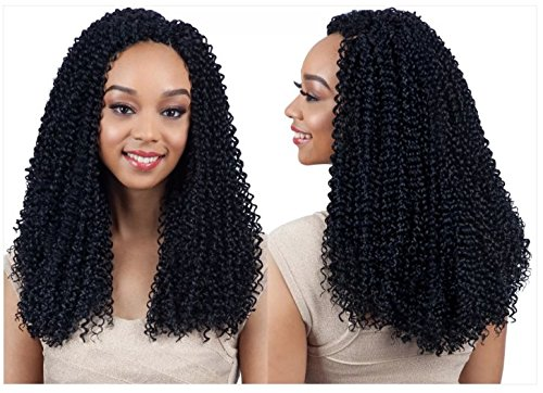 "MODEL MODEL GLANCE BRAID 3X - BOHEMIAN SOUL CURL 14"" #1"
