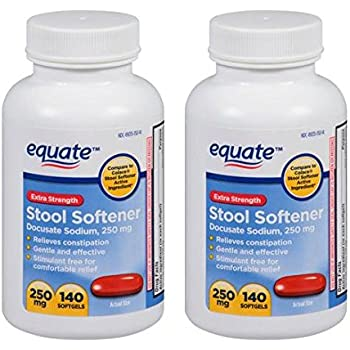 Amazon Com Equate Extra Strength Stool Softener 250mg