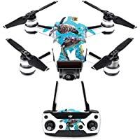 Skin for DJI Spark Mini Drone Combo - Turtly Cool| MightySkins Protective, Durable, and Unique Vinyl Decal wrap cover | Easy To Apply, Remove, and Change Styles | Made in the USA