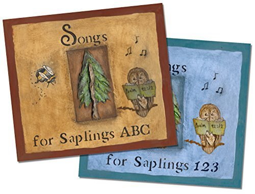Songs for Saplings ABC and 123 [2 CD Set]