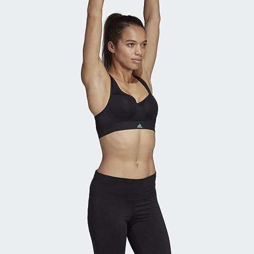 adidas Stronger BH pour Femme avec Soutien Haut XS Noir