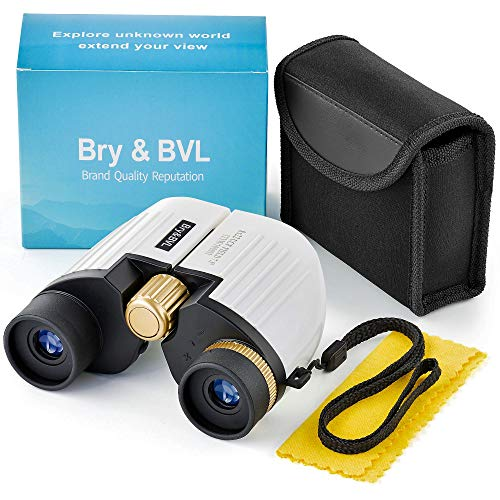 Binoculars for Kids - HIGH Resolution, Shockproof | 8X22 Kids Binoculars for Bird Watching, Waterproof, Best Gift for Boys, Girls | Real Optics Set for Outdoor Games | Detective & Spy