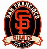 "11X13"" San Francisco Giants SF MLB Wood Street Sign"
