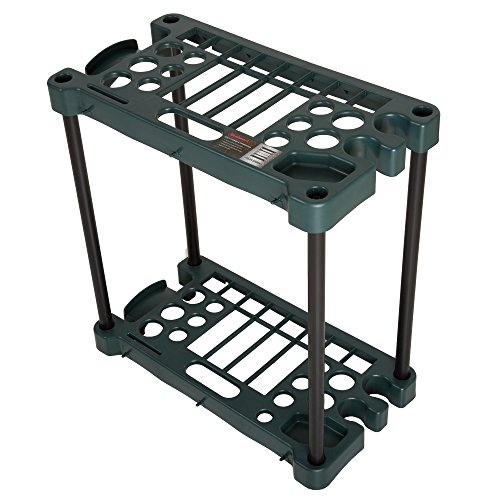 Stalwart Compact Garden Fits Over 30 Tools Storage Rack by Stalwart