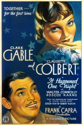 Amazon.com: It Happened One Night Poster: Lithographic Prints: Posters &  Prints