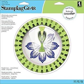 Deluxe Set Circle Inkadinkado Stamping Gear
