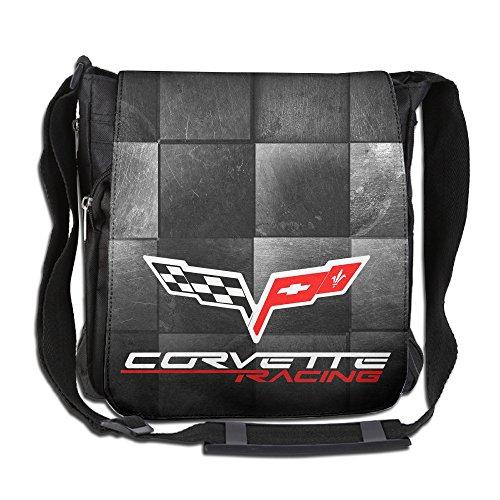 [Geery TT Corvette Racing Single Shoulder Bags Work Bags Backpack] (Corvette Single)