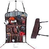 Sue Supply Portable Multi-functional Travel Camping Storage Hanging Bag Fold-up Household Wall Hanging Bag with Back Storage Net Pocket Camping Accessories Mandatory