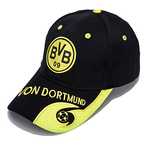 Borussia Dortmund F.C. -Embroidered Authentic EPL Adjustable Black Baseball Cap