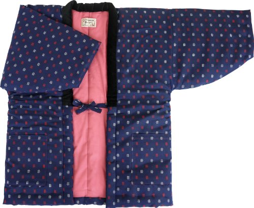 HANTEN (Cotton jacket made in Japan Kimono-style) Ladies' (Medium, ()