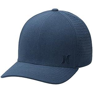 Hurley Mens WSL Phantom Ripstop Black Cap