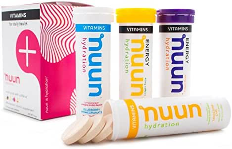 Energy & Endurance: Nuun Vitamins
