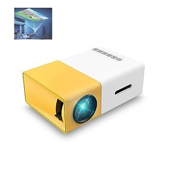 GJZhuan YG300 Proyector LCD Full HD 1080P Mini Portátil Theather ...
