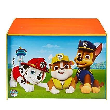 Paw Patrol Bookshelf Kids Bedroom Storage Children Furniture Books Toys Fun New