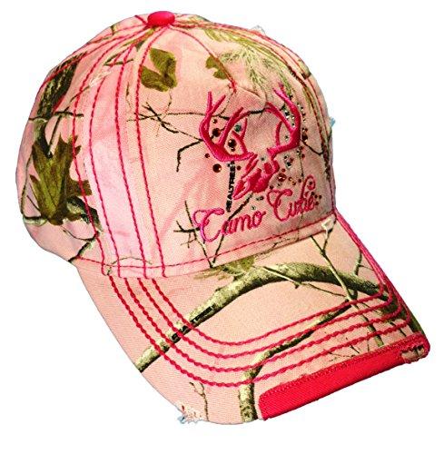 (Laides Realtree Camo Cap Realtree Woman's Pink Camo Cutie)