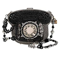 Beaded Rotary Phone Handbag