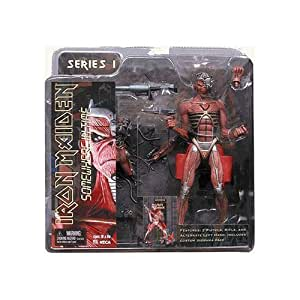 Eddie IRON MAIDEN SOMEWHERE in TIME Action Figure by NECA