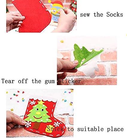 Daxoon Weihnachtsmann Schneemann Nase 50 ST/ÜCKE Mini DIY Kunststoff Puppe Nase F/ür Handgemachte Handwerk Kinder Spielzeug