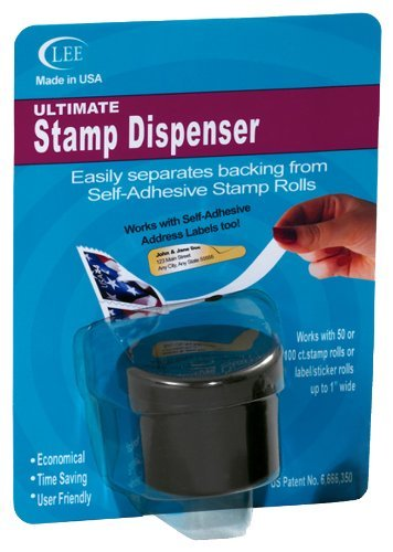 Lee Ultimate Stamp Dispenser, Black (40100), 24 Pack by Lee Products Co.