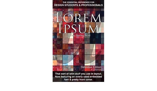 Lorem Ipsum - Definitive Edition
