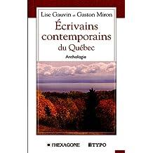 Écrivains contemporains du Québec