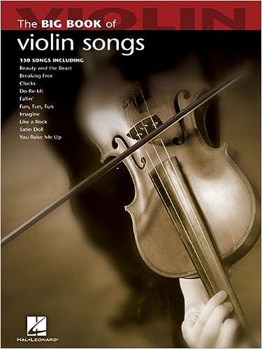 Amazon com: Big Book of Violin Songs (Big Book (Hal Leonard