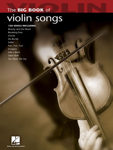 Big Book of Violin Songs (Big Book (Hal Leonard))