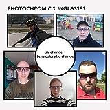 ROCKBROS Unisex Photochromic Cycling Sunglasses