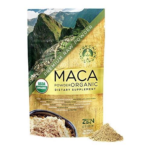 Maca Powder Organic - Peruvian Premium Grade Superfood  - US