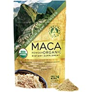 Maca Powder Organic - Peruvian Root Premium Grade Superfood (Raw) - USDA & Vegan Certified - 226.7g (8oz) - Perfect for Breakfast, Smoothies, Baking & Ice Cream.