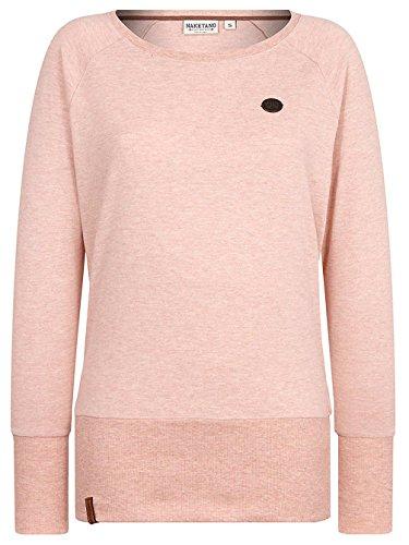 Femme Naketano Pink Pastel Pull Uni Melange gqxq0wE1