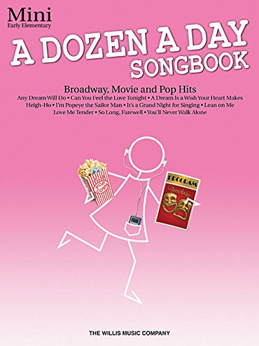 - A Dozen a Day Songbook - Mini: Early Elementary Level