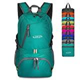 G4Free 40L Lightweight Packable Durable Travel Hiking Backpack Handy Foldable Camping Outdoor Backpack Daypack (Malachite Green) Review