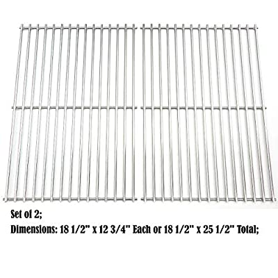 Direct store Parts Kit DS118 Solid Stainless Steel Cooking grids Replacement Charbroil, DCS,Kenmore Sears, Master Chef Gas Grill