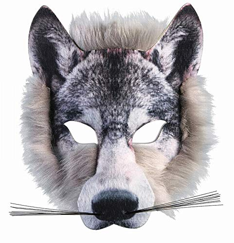 Scary As Hell Wolf Mask - Forum Novelties Wolf Realistic Fur Face