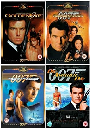 The Complete Pierce Brosnan James Bond Dvd Movie Collection