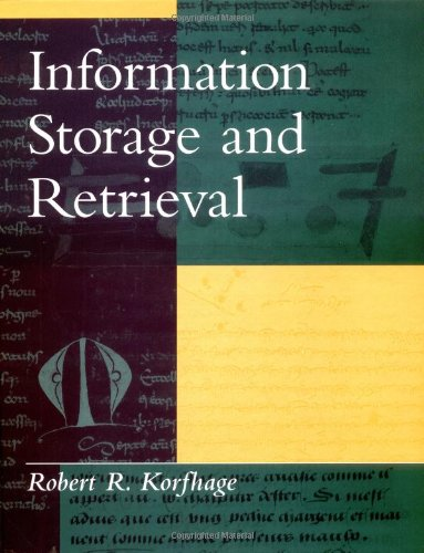 Information Storage and Retrieval-cover