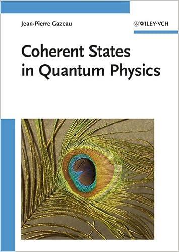 Coherent States in Quantum Physics