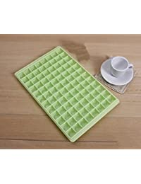 Buy 1pcs 96 Diamond Shape Ice Cream Cube Freeze Mold Chocolate Maker Tray Diy Party Event Home (Green) save