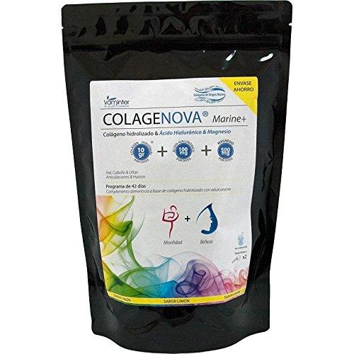 Vaminter Colágeno Colagenova Marine + Magnesio, Hialurónico, 580 g: Amazon.es: Hogar