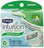 Schick Intuition Sensitive Care Razor Blade Refill Cartridges, 3 Count