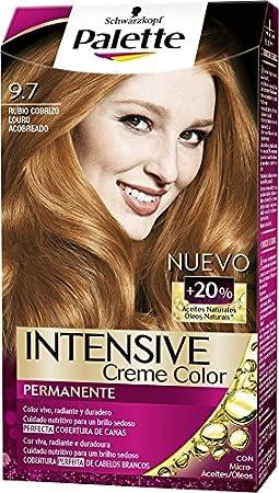 Palette Intense - Tono 9.7 Rubio Cobrizo - 2 uds - Coloración ...