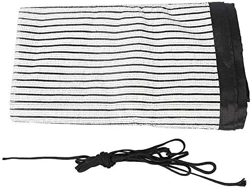 JURONG Balcony Privacy Screen Fence Cover 3.28×16.4ft Patio Screen Privacy UV-Resistant Visibility Reduction Windscreen Packing Include 3.28ft Ropes