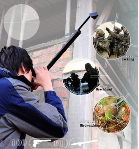 Box Set 5x20 Periscope Durable Light Weight Construction Scope with Carry Case