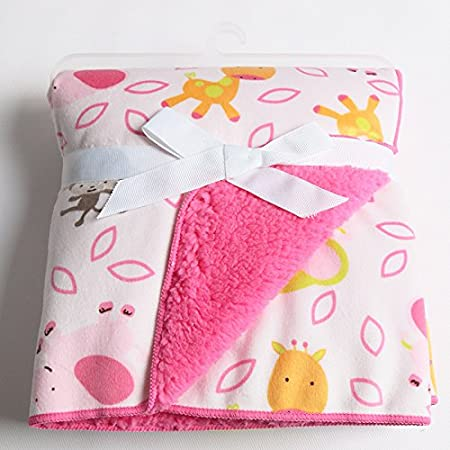 Amazon.com : High Quality Coral Fleece Blanket Character Baby ...